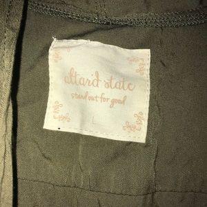 Altr'd State Olive Green Vest